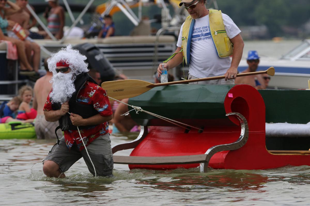 Gallery: Cedar Lake Summerfest Cardboard Boat Race