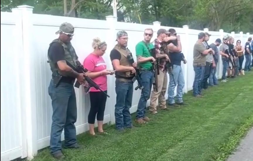 Armed bystanders