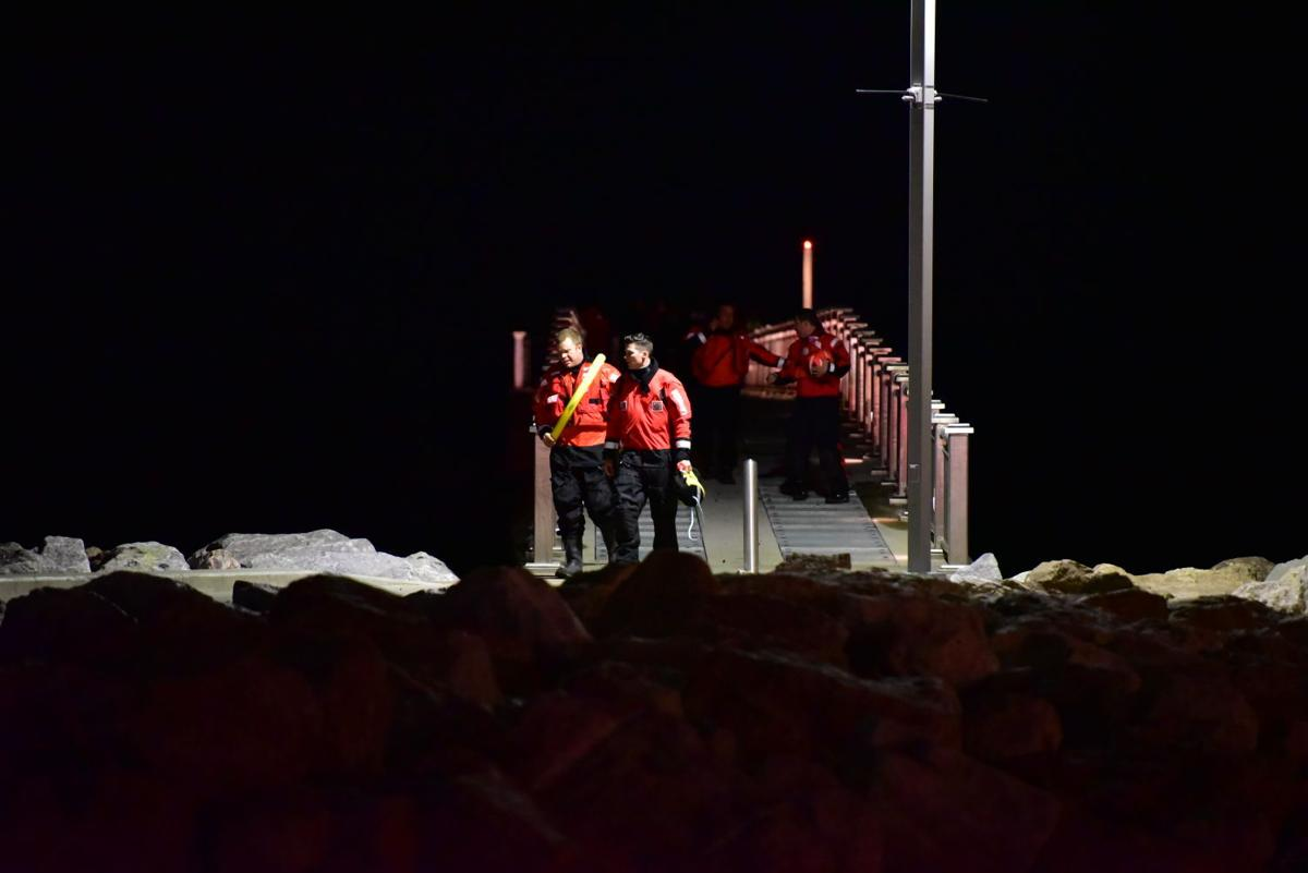 Coast Guard Searches for Person in the Water