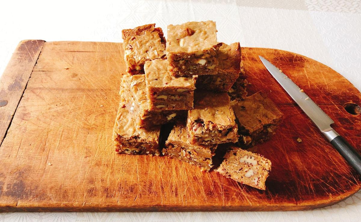 Food Column American Table Tipsy Toffee Bars