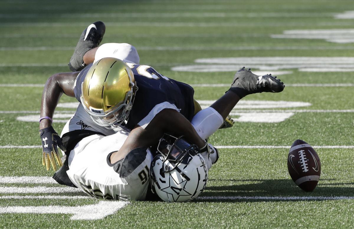Vanderbilt Notre Dame Football