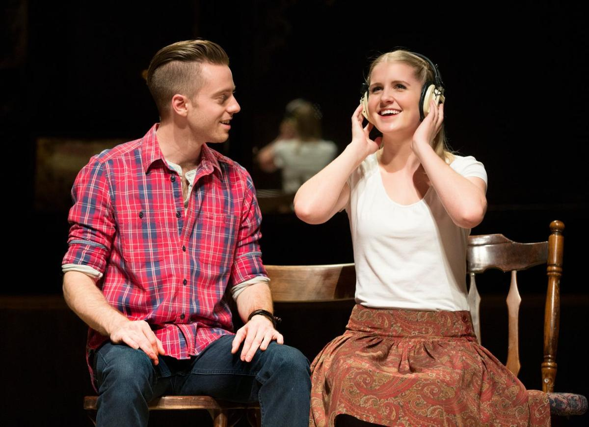 """Alex Nee and Dani de Waal star in the Broadway Tour of """"Once"""""""