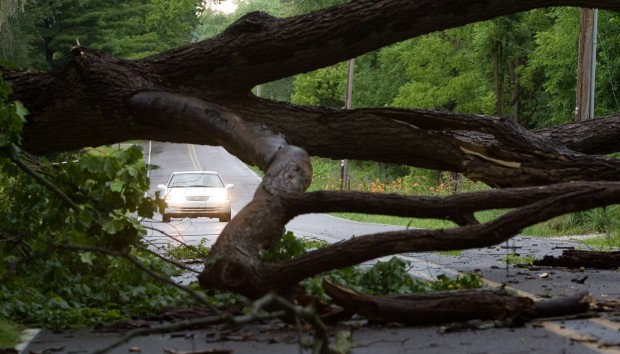 Outages across region as storms roll through
