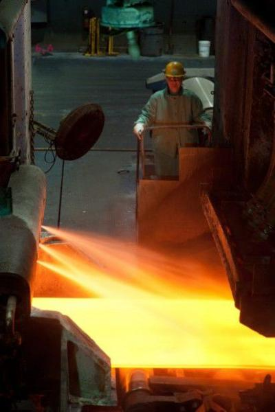 Steel production up 6.4% this year