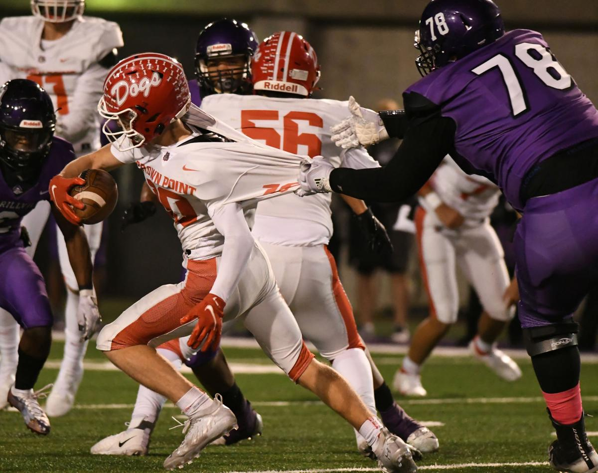 6A football sectional semifinal: Crown Point vs. Merrillville (notebook)