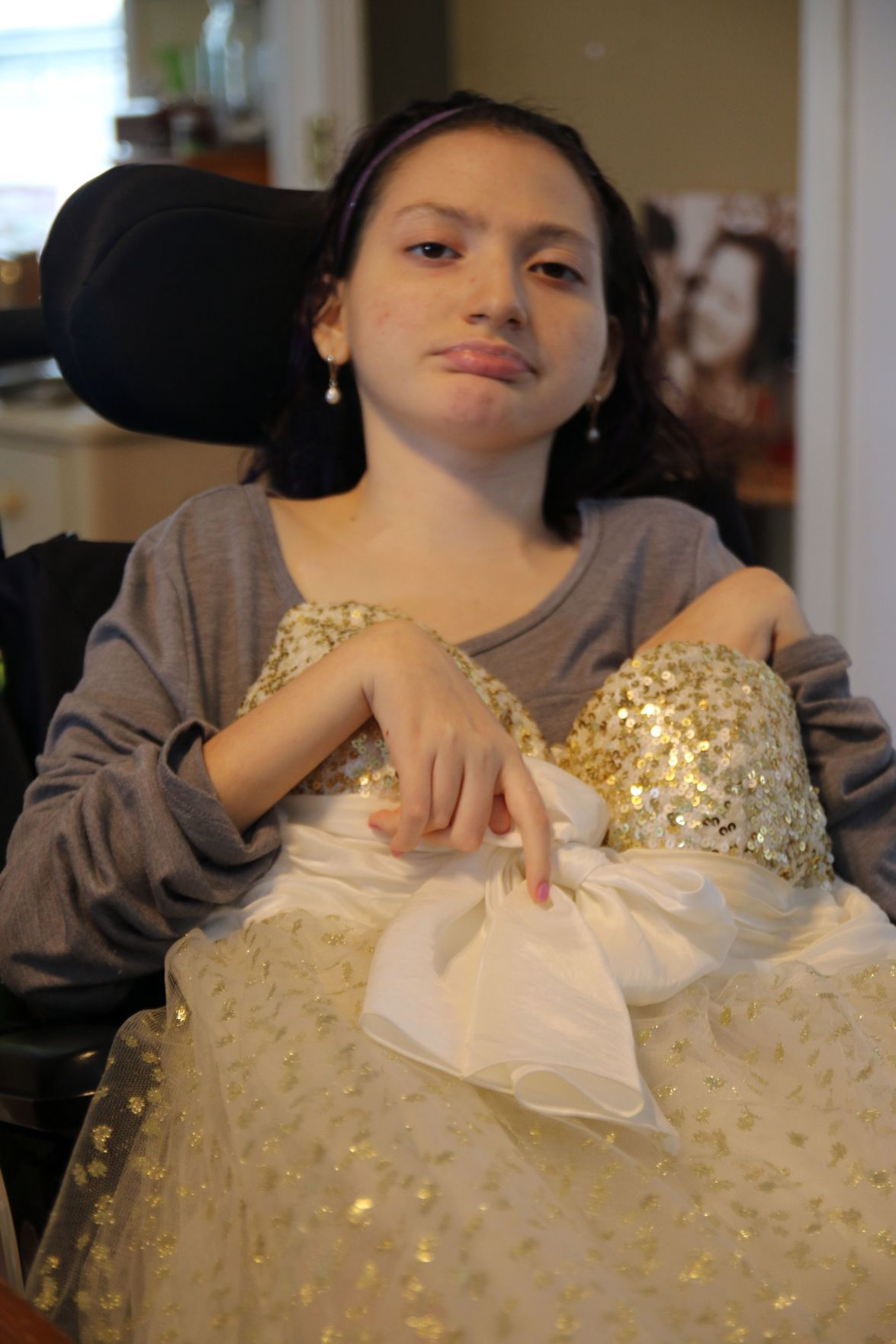 A princess and her dress