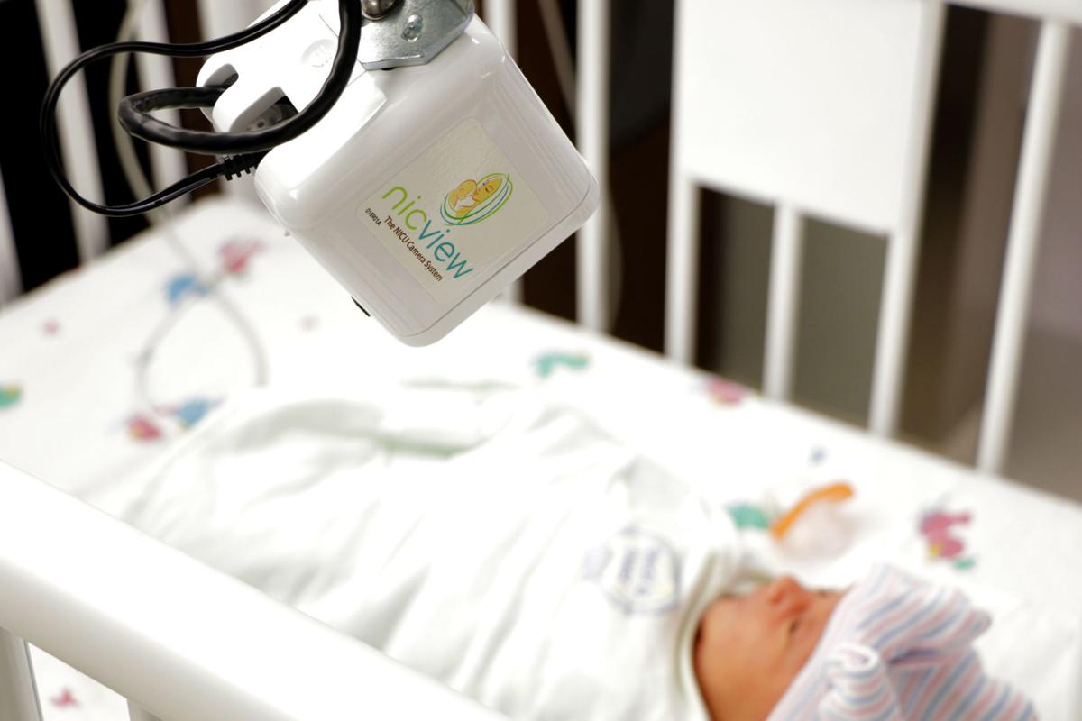 Parents live-stream with newborns at Community Hospital's Neonatal Intensive Care Unit