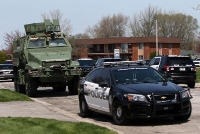 S.W.A.T. response in Dyer