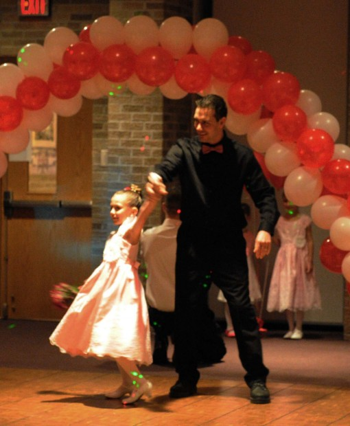 daddy daughter dance in dyer dyer news