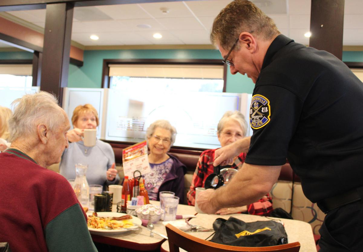 Schererville cops share conversation with residents over coffee