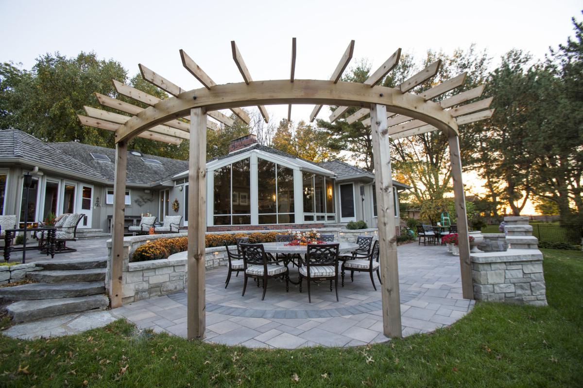 Pergolas: Ancient garden structures are