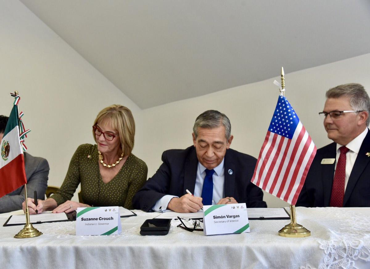 Indiana inks economic cooperation deal with Mexican state of Hidalgo