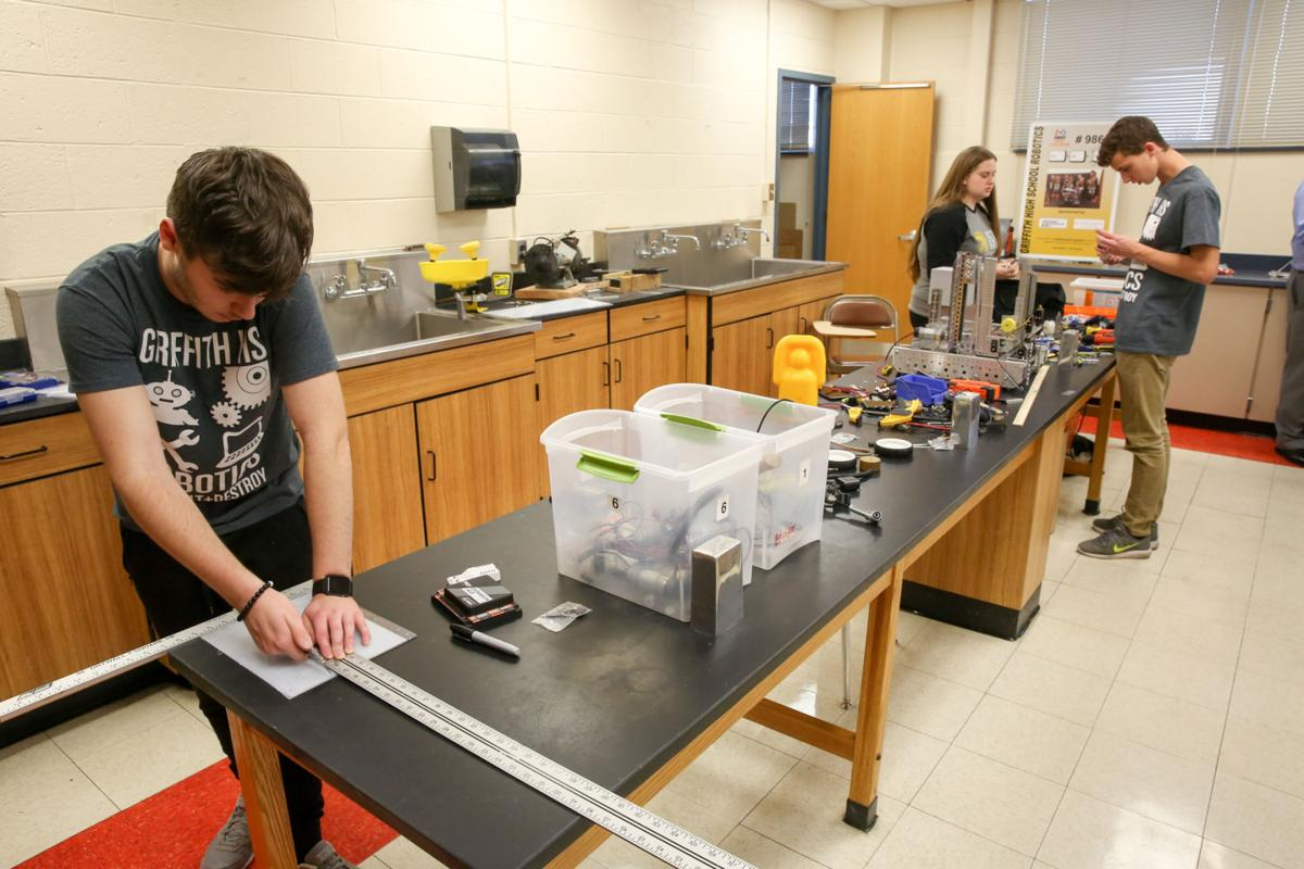 Griffith robotics teams prepare for competition