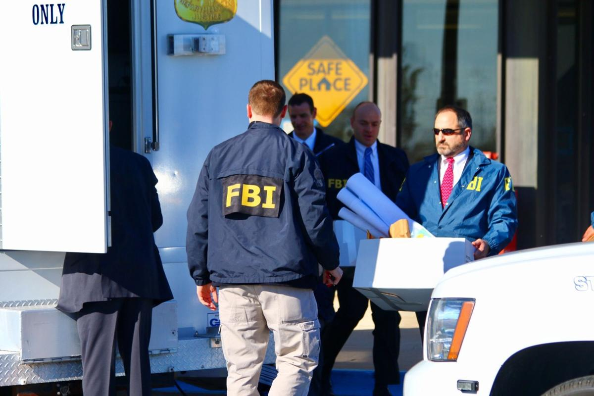 FBI removing documents in Lake County Sheriff Department raid