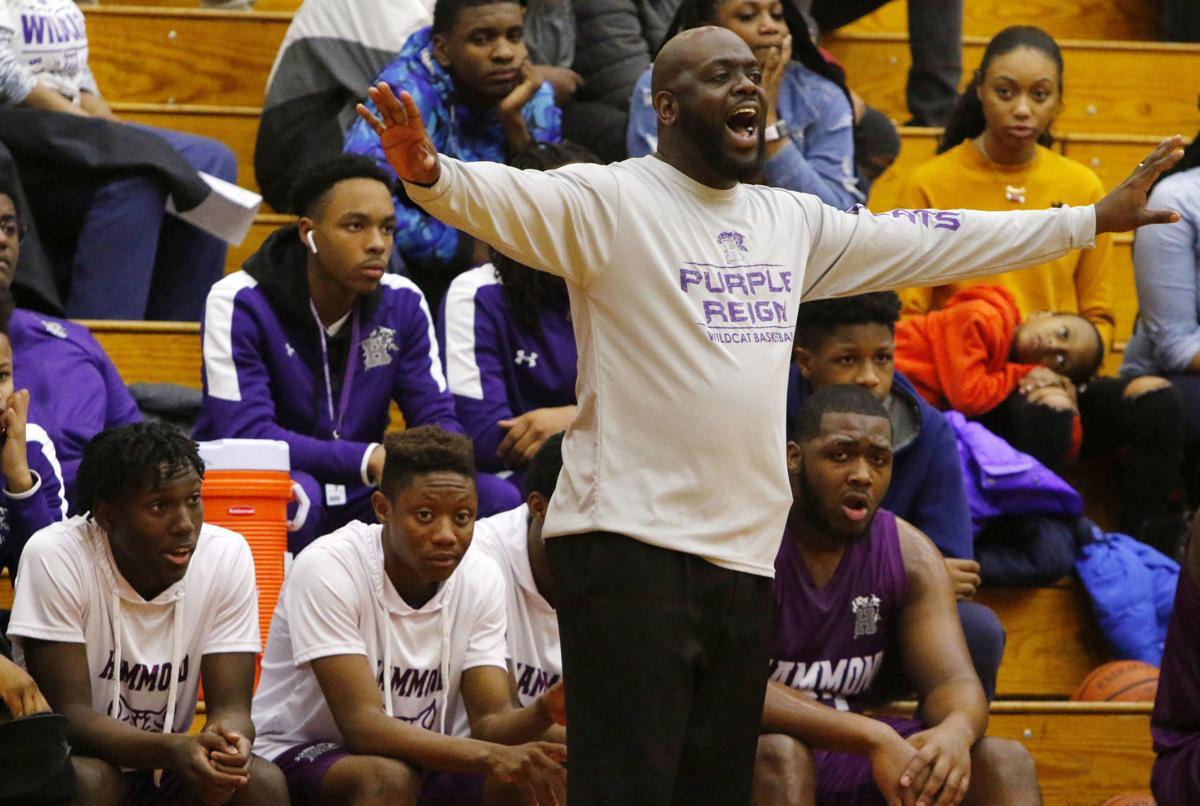 Hammond at EC Central boys basketball (COY)