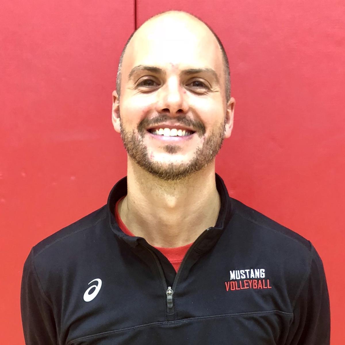 Munster volleyball coach Brett Boden