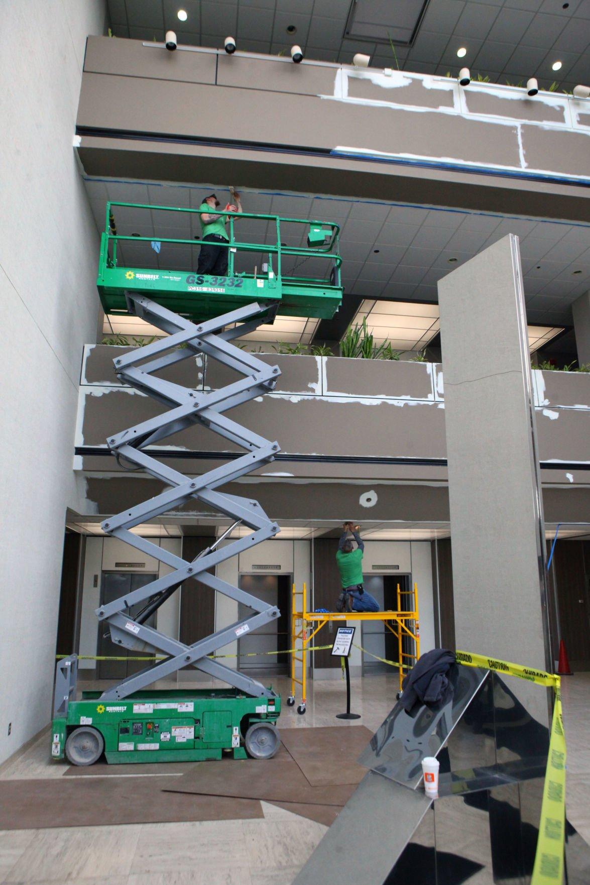 Renovation inside 8585 Broadway in Merrillville
