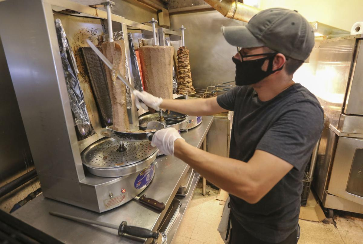 Tzatziki Greek Food, restaurants allowed full capacity