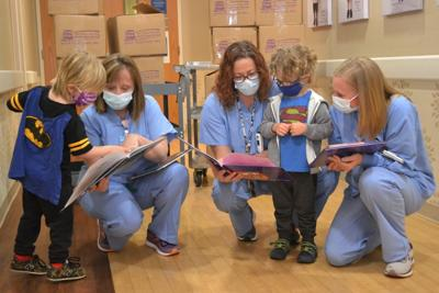 Family donates 500 books to Neonatal Intensive Care Unit
