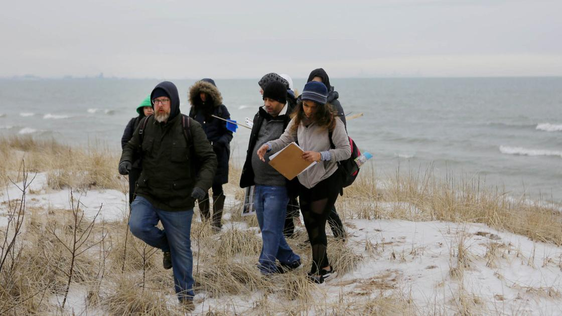 UIC biology professor inspires love of dunes in students with annual study tour of native flora