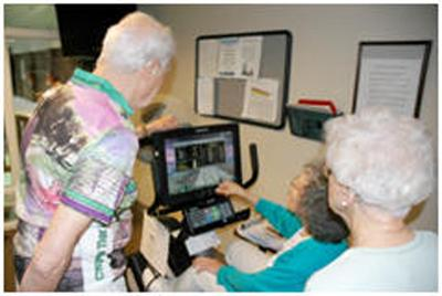 Video games give seniors a mental boost