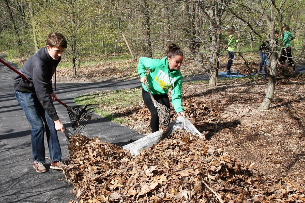 Competing schools work together on Youth Day of Caring