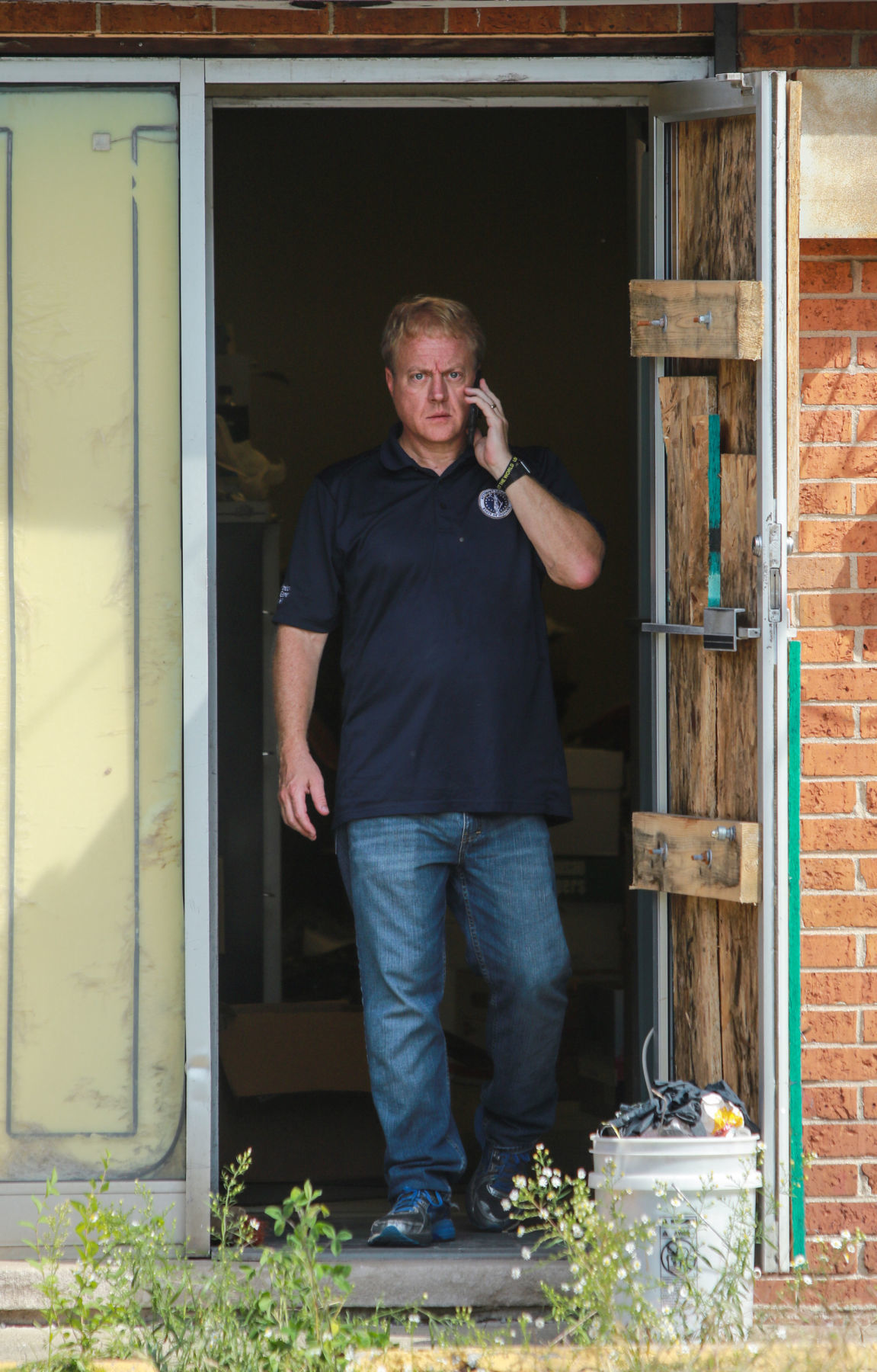 Search for evidence at former abortion clinic