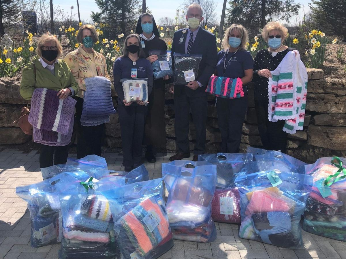 Prayer shawls and blankets donated to sexual assault survivors
