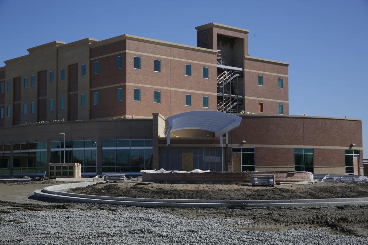 Construction at Community Stroke and Rehabilitation Center