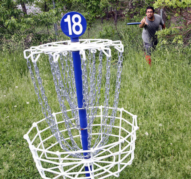 THE SOUTH SHORE IN 100 OBJECTS, DAY 93: Disc golf