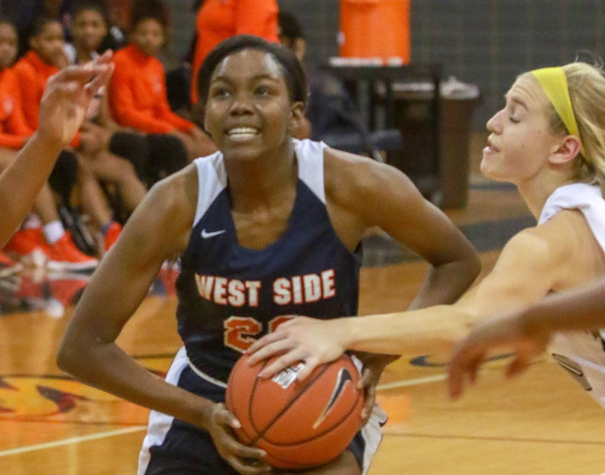 Girls basketball - West Side at Bishop Noll