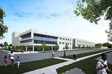 Proposed Arts and Science building