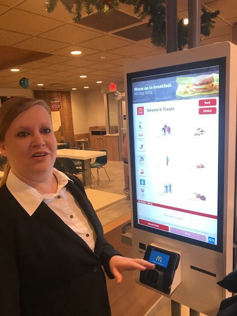 Denise Beatty, general manager of McDonald's in Crown Point