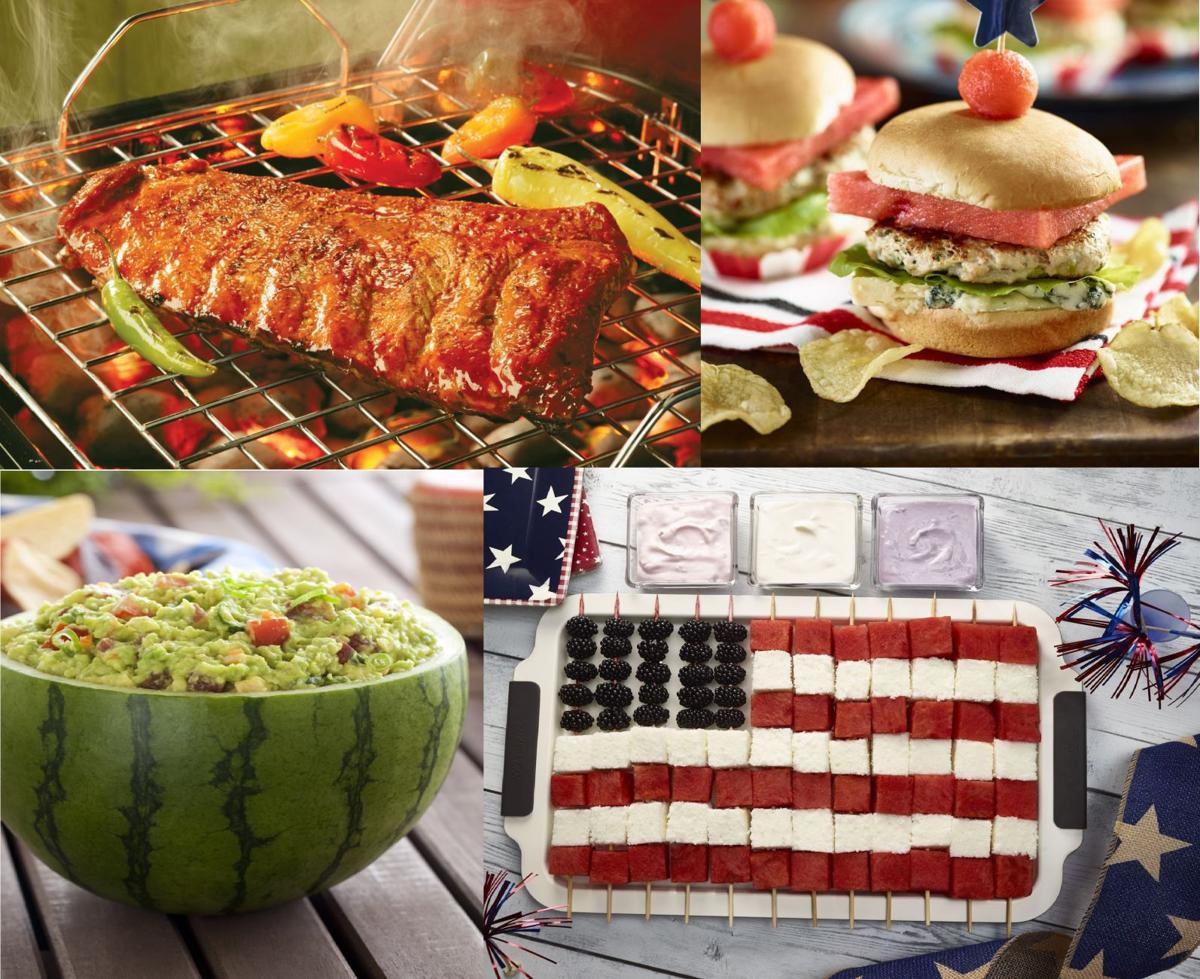 Red, white and blue party: Celebrating Independence Day with flavor