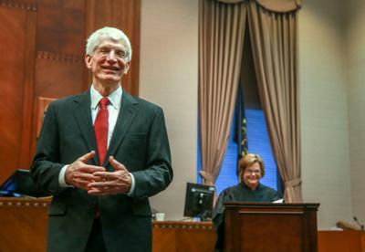 Newly sworn in Porter County Prosecutor Gary Germann