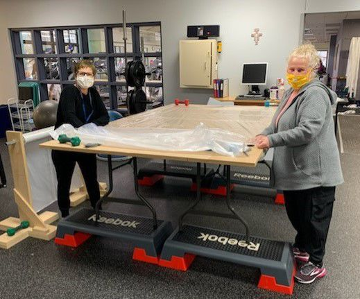 Fitness centers, construction firm partner in equipment production