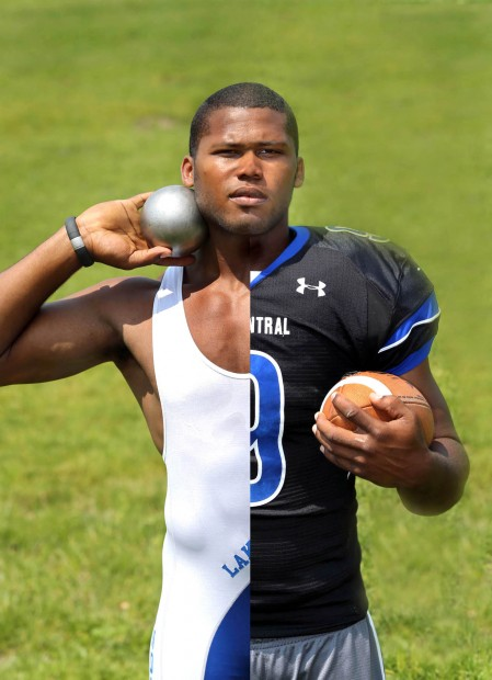 Lake Central's Gelen Robinson is Times Athlete of the Year