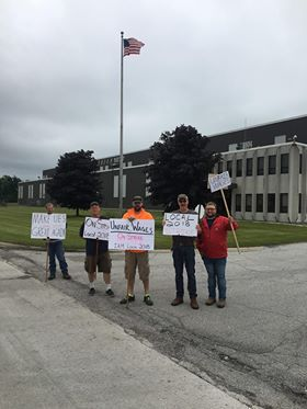 Union Electric Steel workers in Valpo end strike after getting raises