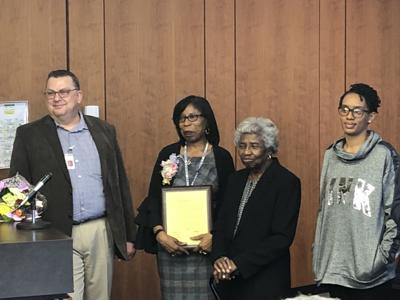 Marilyn Garner honored at council meeting