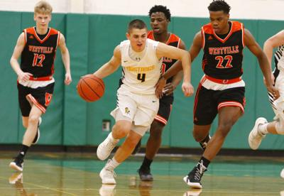 Boys basketball Class A sectional semifinal - Westville vs. Kouts