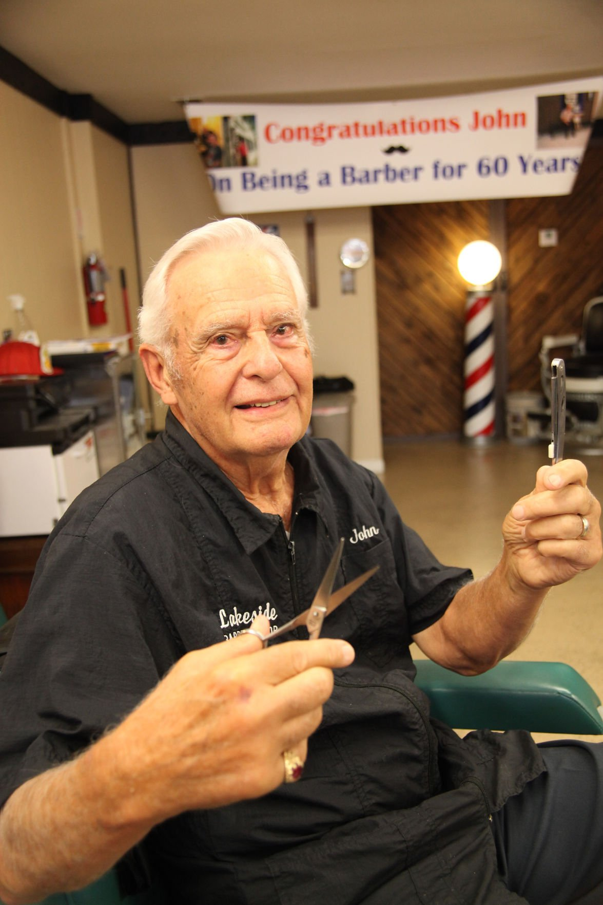 From flat tops to comb overs, John Pfeifer has seen it all