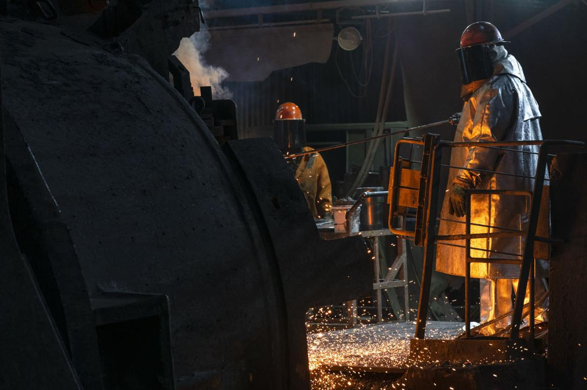 U.S. steel industry still at just 67% capacity