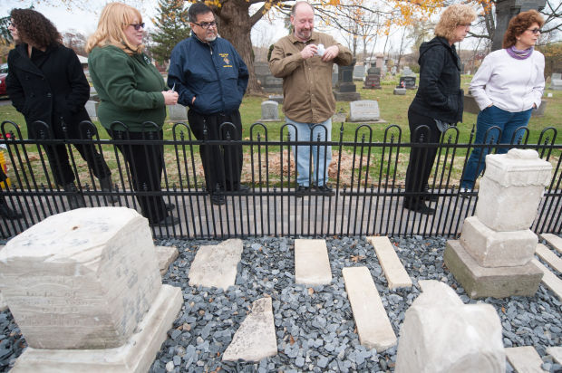 Memorial dedicated to remember James-Schrock Cemetery