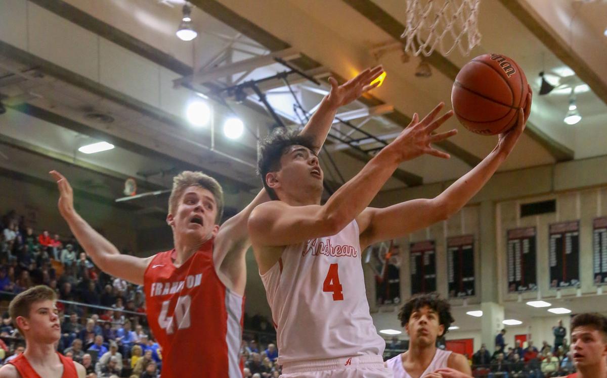 Class 2A boys basketball semistate: Andrean vs Frankton