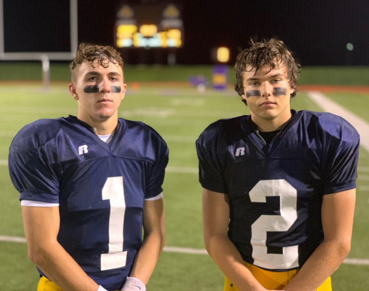 Riley Johnston and Matthew Benton (notebook)