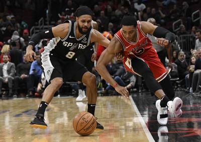 Spurs Bulls Basketball