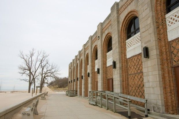THE SOUTH SHORE IN 100 OBJECTS, Day 73: Indiana Dunes State Park Bathhouse