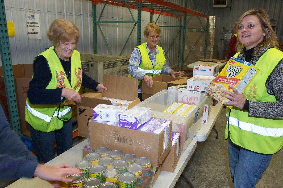 The Food Bank: Fighting hunger starts at home
