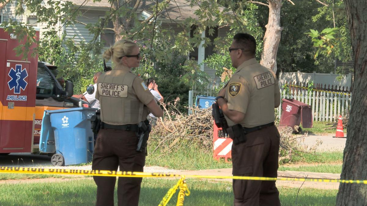 Police Investigate Large Crime Scene in Sauk Village