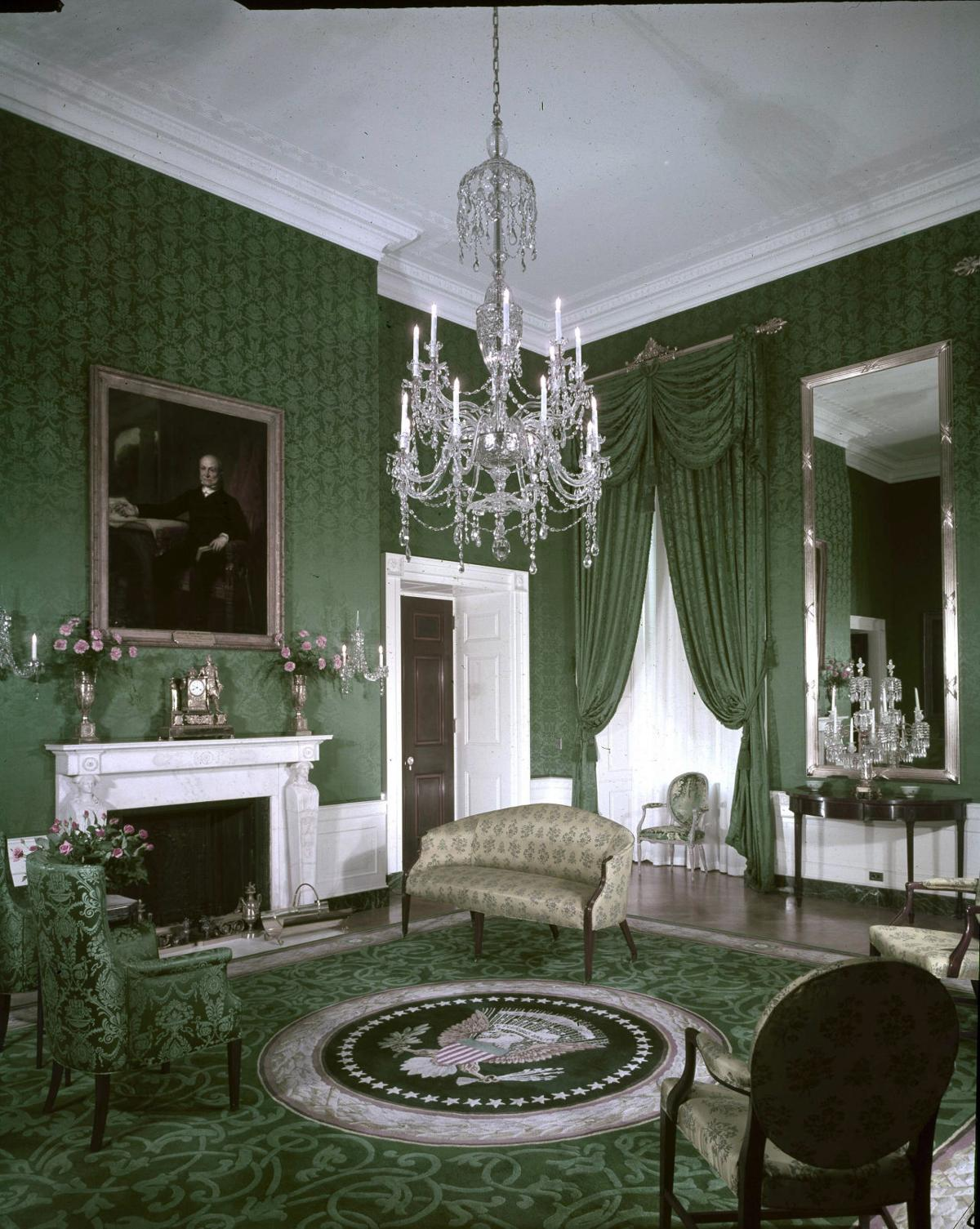 House Room Coloring Page: Photos: Inside The White House's Color-coded Rooms